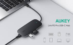USB C Hub AUKEY 8-in-1 Type C Adapter with ... - Amazon.com