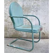 metal lawn chairs. Interesting Metal Retro Metal Lawn Chair Teal Rustic Vintage Porch Furniture  And Chairs O