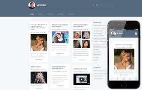Blog Website Templates Simple Animus A Blogging Category Flat Bootstrap Responsive Web Template By