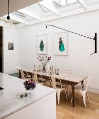 lighting plans for kitchens. Modern-kitchen-extension-idea-with-statement-lighting Lighting Plans For Kitchens