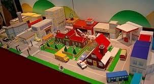 Descubra nossas coleções mais novas para cozinha e banheiro. Maquete Escolar Cidade De Papel 3d Imprima E Monte Mercado Livre