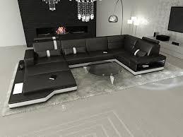 Wohnzimmer Sofa Dreams Leder Wohnlandschaft Messana U Form