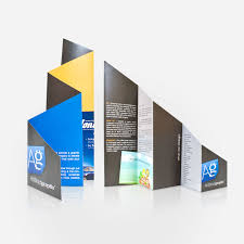 unique brochures accordion fold brochure great design pinterest accordion