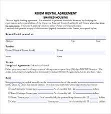 house rental agreement sample sample residential rental agreement 12 examples format
