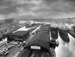 "citybizlist : Baltimore : ""Baltimore Harbor"" 1950 - A. Aubrey Bodine"