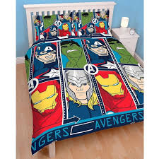 Marvel Comics Strike Double Duvet Quilt Cover Set Boys Bedroom ... & NEW MARVEL COMICS STRIKE DOUBLE DUVET QUILT COVER SET BOYS BEDROOM IRON MAN  HULK Adamdwight.com