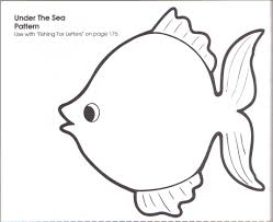 Small Picture Template Print Coloring Page FishPrintPrintable Coloring Pages