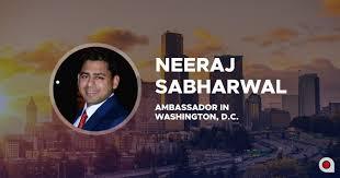 Neeraj Sabharwal Washington DC becoming Applicature Ambassador