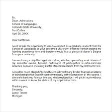 Sample Unsolicited Cover Letter Letters Font