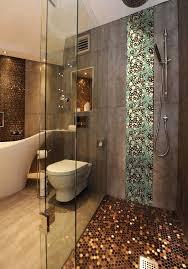 porcelain pebble tile for shower wall sticker ppt009
