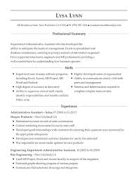 Sample Of Functional Resume For Administrative Assistant With Regard To     Astonishing     thevictorianparlor co