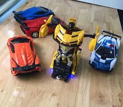 Xe ô tô điều khiển từ xa biến hình thành robot – Ô tô biến hình đồ chơi , o  to bien hinh