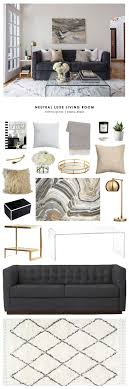living room looks for less. copy cat chic room redo | neutral luxe living a looks for less t