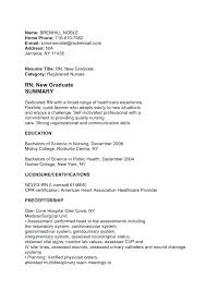 Medical Surgical Nursing Resume – Foodcity.me