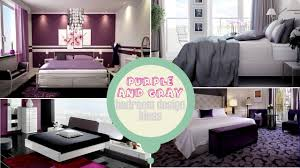 Purple And Gray Bedroom Purple And Gray Bedroom Design Ideas Youtube