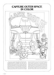 The Black Hole Coloring Page From The Black Hole Pressbook Black