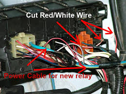 convert tazz headlights wires