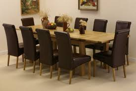 Maple Kitchen Table And Chairs Dining Room Brown Leather Upholstered Dining Chair Classic Dining