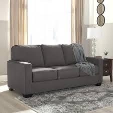 Ashley Furniture Zeb Full Sofa Sleeper in Charcoal