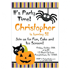 Online Printable Birthday Party Invitations Marvelous Free Printable Halloween Birthday Party