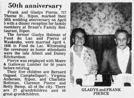 Frank & Gladys 50th Wedding Anniversary - Newspapers.com