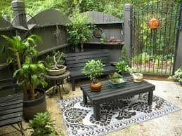furniture for small patio. black small space patio furniture for