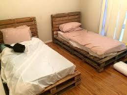 bed frames pallet frame instructions with inside lights pallet bed frame diy bed frames pallet frame