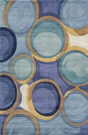 blue and gold rug rug designs nw 133 rug from new wave by momeni plushrugs com