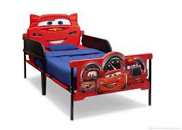 Cars Plastic 3D Twin Bed Delta Children