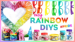 4 easy rainbow diys pride bring color to your room this summer you