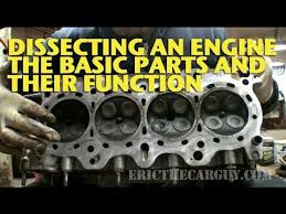 dissecting an engine the basic parts and their functions dissecting an engine the basic parts and their functions ericthecarguy
