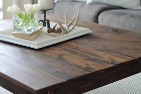 Square Rustic Coffee Table Plans