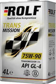 <b>Трансмиссионное масло ROLF</b> Transmission 75W-90 GL-4 – <b>ROLF</b>