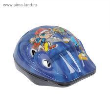 <b>Шлем</b> защитный OT-S502 детский <b>р S</b> (52-54 см), цвет <b>синий</b> ...