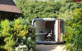 office pods garden. At Just 2.1m X They Are Perfect For Creating An Additional Room In A Garden Design. Often Space Is Premium Indoors Meaning The Office Pods