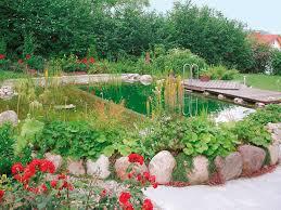 Einen Schwimmteich Im Garten Anlegen Wohnen