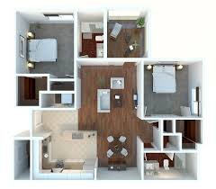 50 two 2 bedroom apartment house plans 3ds max 3d and