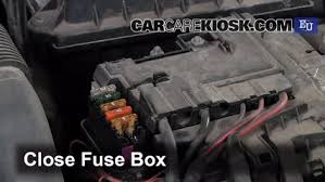replace a fuse 2007 2014 skoda fabia 2010 skoda fabia s 1 2l 3 cyl Skoda Fabia Fuse Box Location 6 replace cover secure the cover and test component skoda fabia fuse box location layout