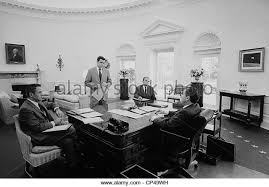 nixon oval office. president nixon meets with chief advisers in the oval office l to r hr haldeman g