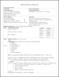 Siop Lesson Plan Template 1 Siop Model Lesson Plan Format Template 507436638338 Siop Lesson