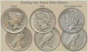 Peace Dollar Grading This Represents Thy Thnk The Sale Of