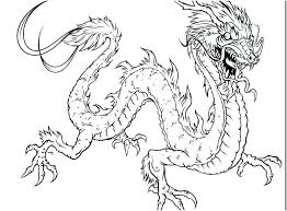 Printable Dragon Coloring Pages Printable Dragon Coloring Pages New
