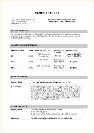 Teacher Resume Format In Word It Resume Cover Letter Sample