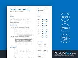 Google Doc Resume Template Modern Eudokia Simply Modern Resume Template Resumgo Com
