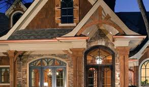 narrow lot lake house plans house plans lake front plan lakefront sloping lot small by