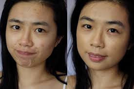 maybelline superstay full coverage foundation in 220 natural beige before and after