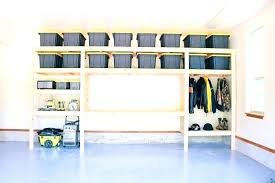 wall mounted garage storage shelves how to build garage shelves garage storage favorite plans white projects