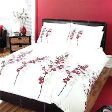cherry blossom duvet cover dreams n ds oriental flower set red 0