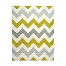 yellow chevron rug and gray area blue teal white zigzag