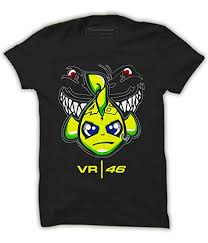 Valentino Mens Shirt Size Chart Quote Marshals Motogp Shark Fish Valentino Rossi Vr46 Black Cotton T Shirt For Mens